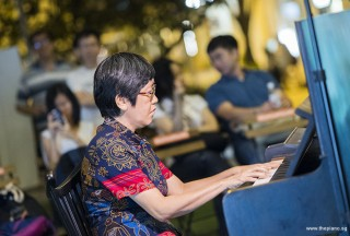 Pianovers Meetup #72, Ee Fong performing
