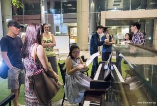 Pianovers Meetup #72, Pianovers jamming and socialising
