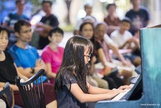 Pianovers Meetup #73, Grace Pang performing