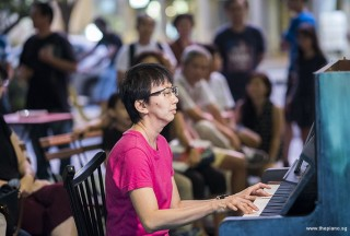 Pianovers Meetup #73, Siew Tin performing