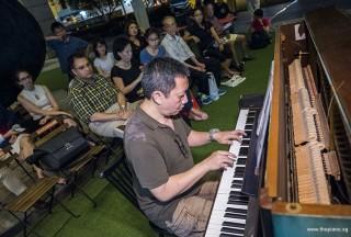 Pianovers Meetup #73, Gavin Koh performing