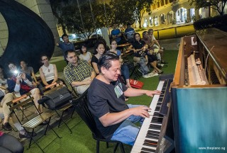 Pianovers Meetup #73, Gee Yong performing