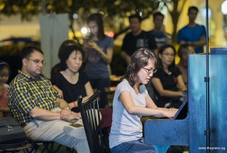 Pianovers Meetup #73, Pauline Yong performing