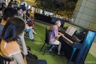 Pianovers Meetup #73, Henry Wong performing