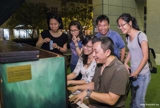 Pianovers Meetup #73, May Ling, Janice, Zhijing, Gavin, Seng Chin, and MJ