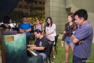 Pianovers Meetup #73, Gee Yong playing
