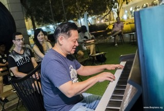 Pianovers Meetup #74, Gee Yong performing
