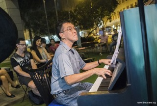 Pianovers Meetup #74, Chris Khoo performing