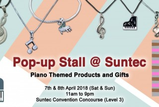 ThePiano.SG Pop-up Stall @ Suntec, Banner