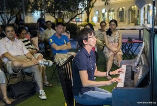 Pianovers Meetup #75, Siew Tin performing