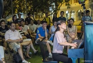 Pianovers Meetup #75, Masumi performing