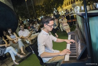 Pianovers Meetup #75, Joel Giam performing