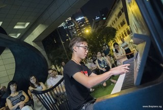 Pianovers Meetup #75, Yew Siang performing