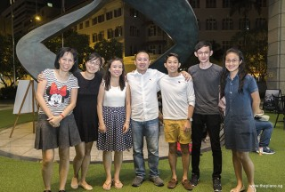 Pianovers Meetup #75, May Ling, Zhi Jing, Jenny Soh, Yong Meng, Gregory Goh, Herman Ho, and Yang Shu Wen