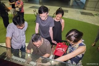 Pianovers Meetup #75, Seng Chin, Gavin, Herman, Shirlene, and Janice