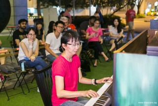 Pianovers Meetup #76, Siew Tin performing