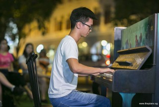 Pianovers Meetup #76, Max Zheng performing