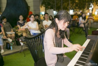 Pianovers Meetup #76, Masumi performing