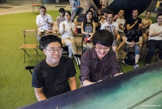 Pianovers Meetup #77, Jeremy Foo, and Matthew Soh performing for us