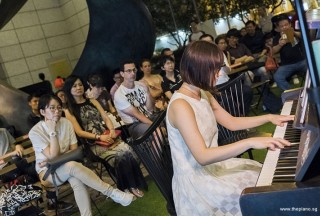 Pianovers Meetup #77, Esther Lim performing