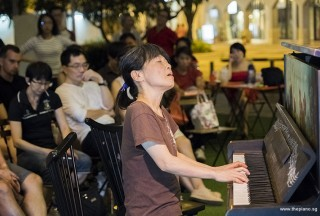 Pianovers Meetup #77, Masumi performing