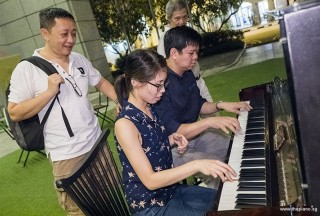 Pianovers Meetup #77, Gavin, Janice, Zensen, and Albert