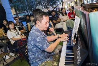 Pianovers Meetup #78, Gavin performing