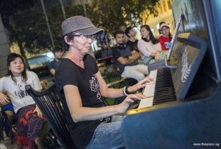 Pianovers Meetup #78, Siew Tin performing
