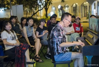 Pianovers Meetup #78, Teik Lee performing
