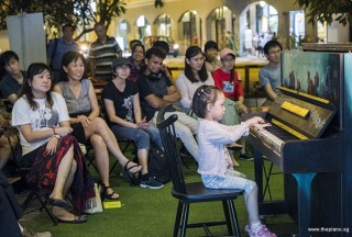 Pianovers Meetup #78, I-Wen performing for us