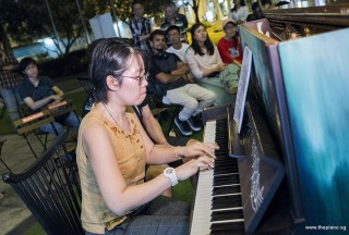 Pianovers Meetup #78, Grace Wong performing