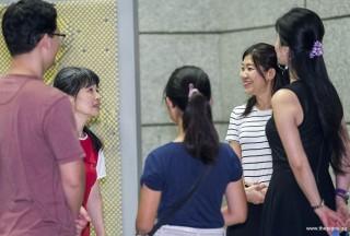 Pianovers Meetup #79, Hiro, Masumi, Erika, Winny, and Anne