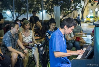 Pianovers Meetup #80, Tian Wei performing