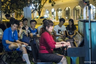 Pianovers Meetup #80, Jia Hui performing