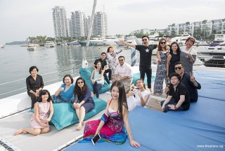 Pianovers Sailaway #2, Group picture #2