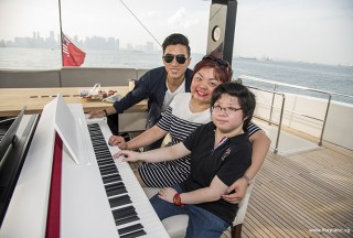 Pianovers Sailaway #2, Aaron Matthew Lim, Kathryn Ng, and Shirley