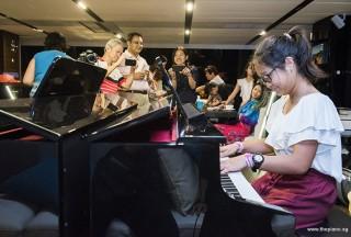 Pianovers Sailaway #2, Erika #1