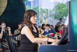 Pianovers Meetup #81, Jia Hui performing