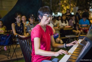 Pianovers Meetup #81, Siew Tin performing for us
