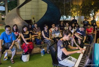 Pianovers Meetup #81, Gregory Goh performing