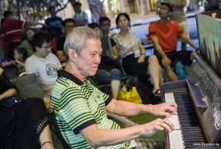 Pianovers Meetup #82 (Hari Raya Themed), Albert performing