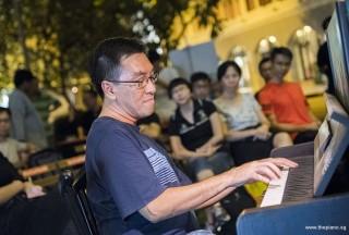 Pianovers Meetup #82 (Hari Raya Themed), Chris Khoo performing