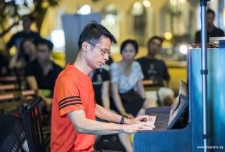 Pianovers Meetup #82 (Hari Raya Themed), Theng Beng performing