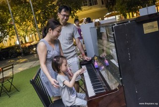 Pianovers Meetup #82 (Hari Raya Themed), I-Wen and family