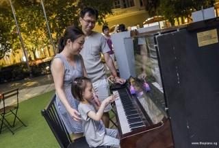 Pianovers Meetup #82 (Hari Raya Themed), I-Wen and family