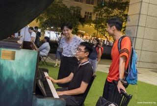 Pianovers Meetup #82 (Hari Raya Themed), Kendrick playing