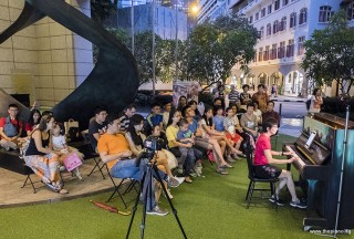 Pianovers Meetup #83, Siew Tin performing