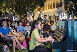 Pianovers Meetup #83, Keisha performing