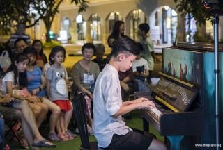 Pianovers Meetup #83, Tan Chee Yang performing