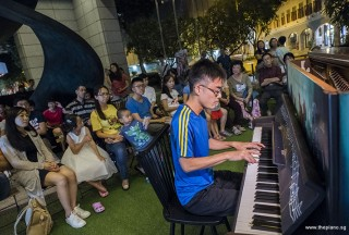 Pianovers Meetup #83, Sooty Heng performing